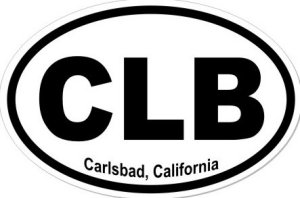 Carlsbad California  - Sticker