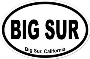 Big Sur California  - Sticker
