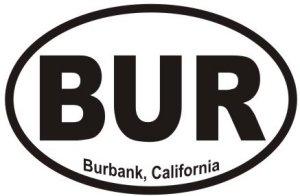 Burbank California  - Sticker