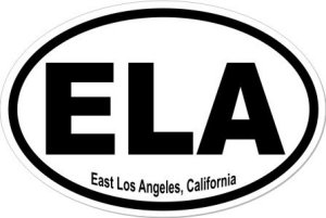 East Los Angeles California  - Sticker