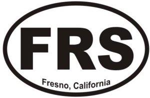 Fresno California  - Sticker
