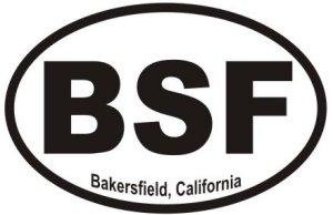 Bakersfield California  - Sticker
