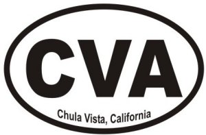 Chula Vista California  - Sticker