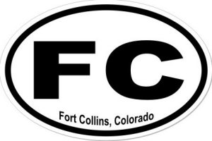 Fort Collins Colorado - Sticker