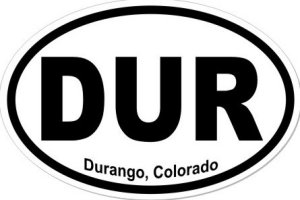 Durango Colorado - Sticker