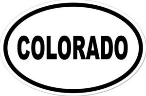 COLORADO - Sticker