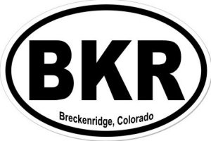 Breckenridge Colorado - Sticker