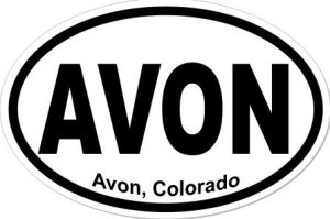 Avon Colorado - Sticker