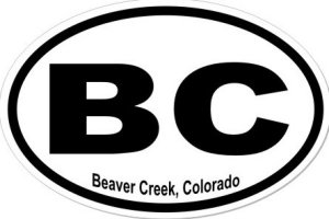 Beaver Creek Colorado - Sticker
