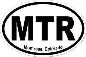 Montrose Colorado - Sticker