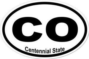 Centennial State - Sticker