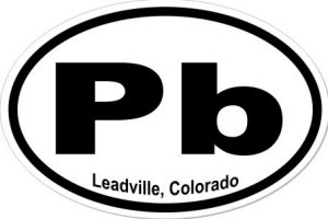 Leadville Colorado - Sticker