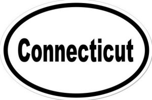 Connecticut - Sticker