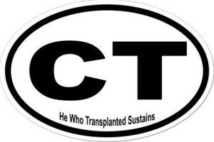 Transplanted - Sticker