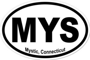 Mystic Connecticut - Sticker
