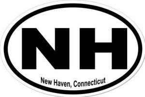 New Haven Connecticut - Sticker