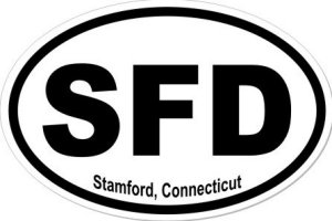 Stamford Connecticut - Sticker