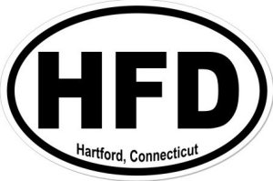 Hartford Connecticut - Sticker