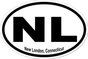 New London Connecticut - Sticker