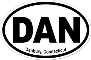 Danbury Connecticut - Sticker