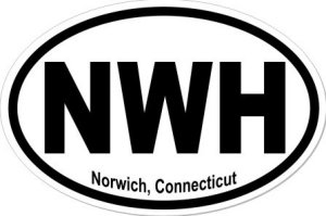 Norwich Connecticut - Sticker