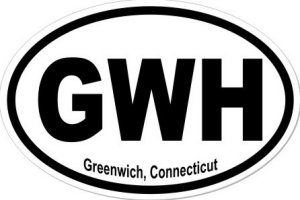 Greenwich Connecticut - Sticker