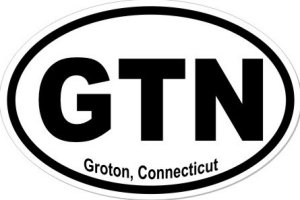 Groton Connecticut - Sticker