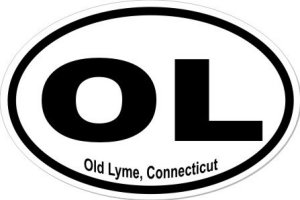 Old Lyme Connecticut - Sticker