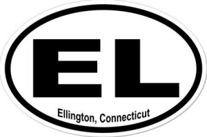 Ellington Connecticut - Sticker