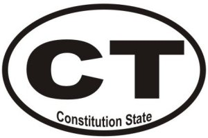 Constitution State - Sticker