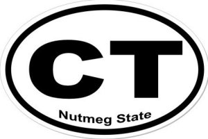 Nutmeg State - Sticker