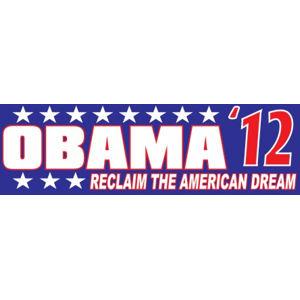 Obama American Dream - Bumper Sticker