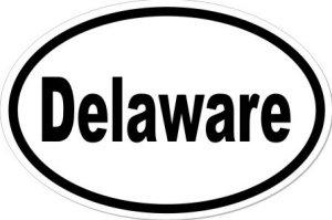 Delaware - Sticker