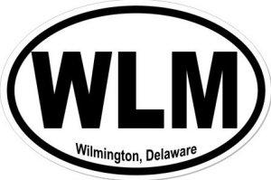 Wilmington Delaware - Sticker