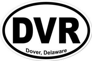 Dover Delaware - Sticker