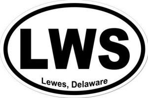 Lewes Delaware - Sticker