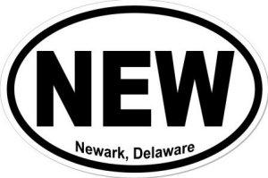 Newark Delaware - Sticker
