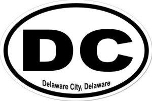 Delaware City Delaware - Sticker