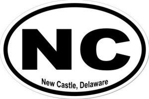 New Castle Delaware - Sticker