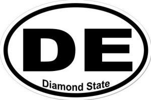 Diamond State - Sticker