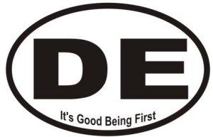 Good Being First - Sticker