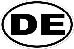 DE - Sticker