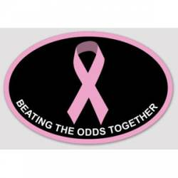 09e147eec9409 Breast Cancer Awareness Stickers, Decals & Bumper Stickers