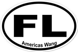 America's Wang - Sticker