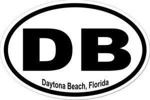 Daytona Beach Florida - Sticker