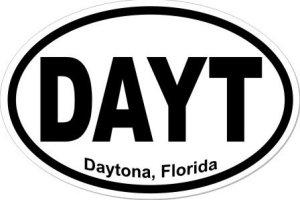 Daytona Florida - Sticker