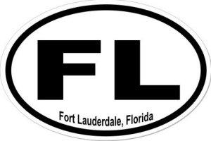 Fort Lauderdale Florida - Sticker