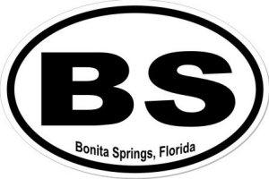 Bonita Springs Florida - Sticker