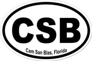 Cam San Blas Florida - Sticker