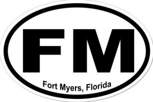 Fort Myers Florida - Sticker